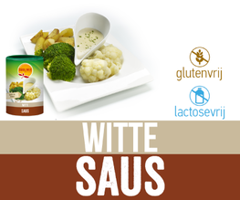 Witte saus 240/ 480 gram