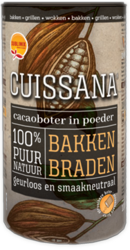 Cuissana • 100% cacaoboter om te strooien •